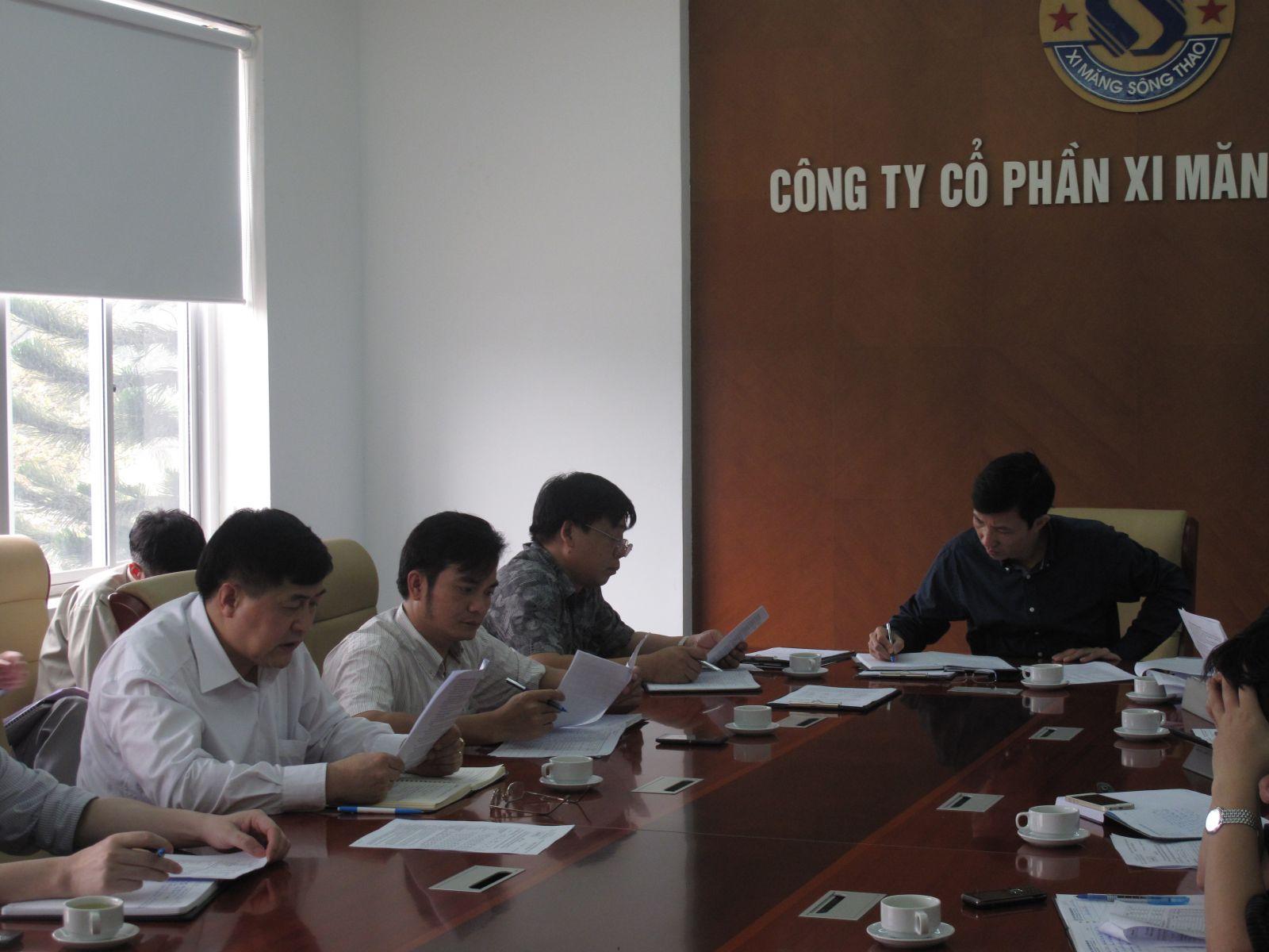 CÔNG TY CP XI MĂNG SÔNG THAO: Quý I/2014, các chỉ tiêu về SXKD đều đạt và vượt kế hoạch đề ra